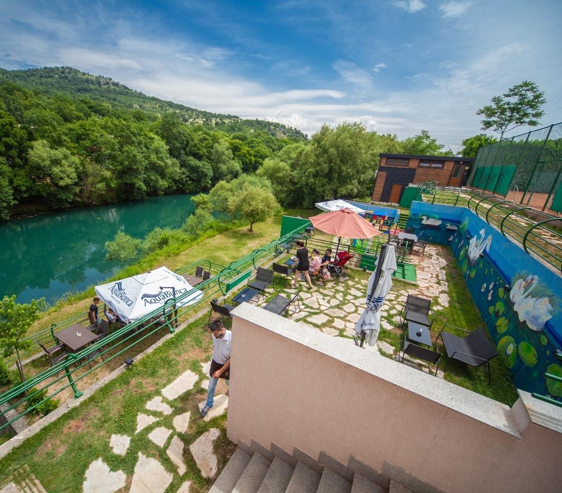 Romantične kaskade na rijeci Zeti - Rio Verde